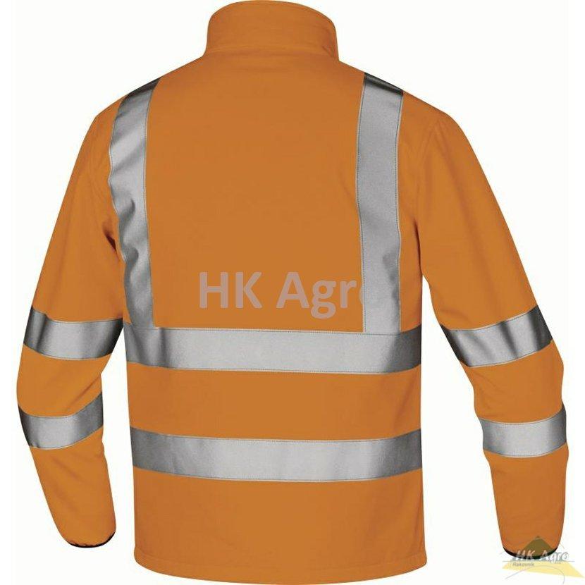 Delta Lega HV softshellová bunda oranžová vel.L